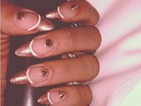 Celebrity nails alert! How to do Rihanna's rose gold, studded manicure