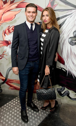 Nick Ede's Style For Stroke Charity Event at INK LDN Ferne McCann and Charlie Sims - London, Britain - 04 Dec 2013
