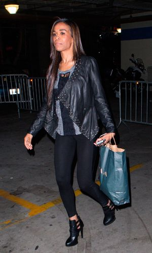 Stars attend a Beyonce concert at Staples Center, Los Angeles, America - 03 Dec 2013 - Michelle Williams