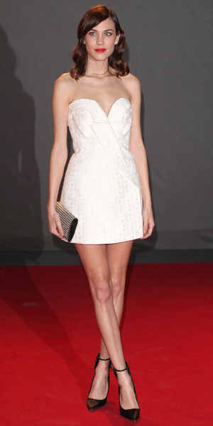 Alexa Chung at the 2013 British Fashion Awards in London - 2 December 2013