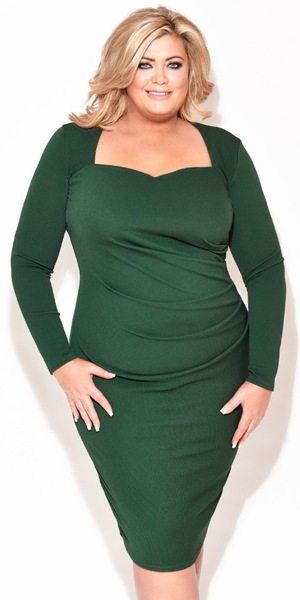 Gemma Collins models the new Gemma Collins Christmas capsule collection