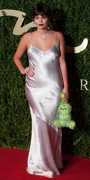Pixie Geldof at British Fashion Awards in London - 2 December 2013