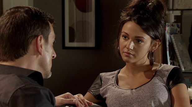 Corrie, will Peter give in to tempation?, Tue 3 Dec