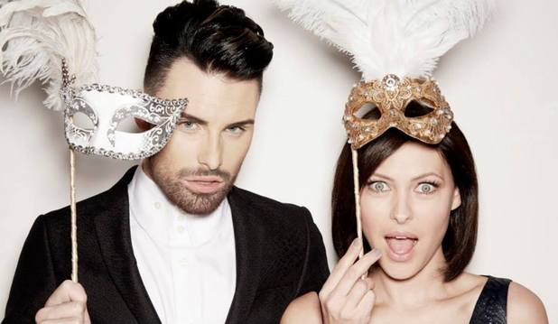 Celebrity Big Brother 2014 promo shot - Rylan Clark and Emma Willis