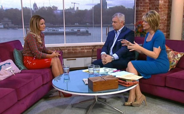 TOWIE's Sam Faiers appears on This Morning - 29.11.2013