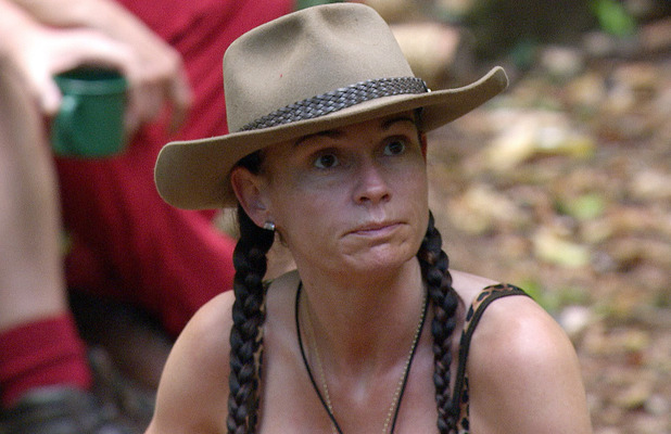 Lucy Pargeter during I'm A Celebrity 2013