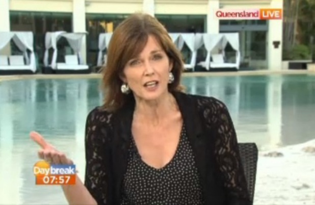 I'm A Celebrity Get Me Out Of Here! star Annabel Giles on Daybreak - 2 December 2013