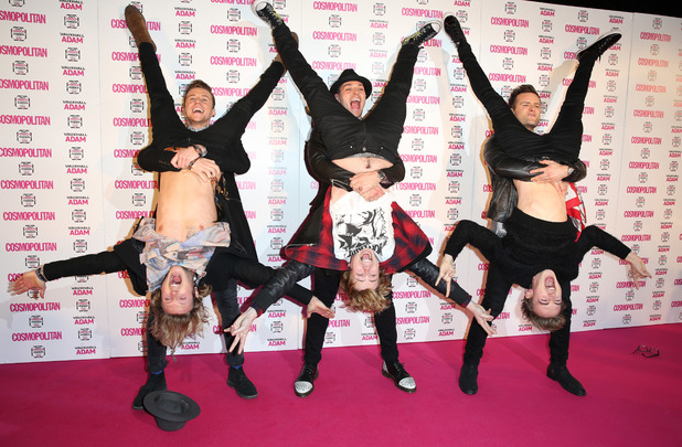 Cosmopolitan Ultimate Women of the Year Awards 2013 in London - McBusted 5.12.2013