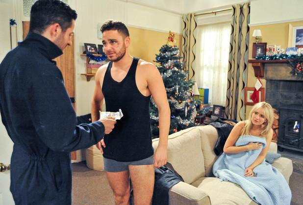 Emmerdale, Adam beds Katie, Tue 10 Dec