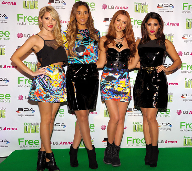 The Saturdays, Mollie King, Una Healy, Vanessa White, Rochelle Humes at Free Radio Live 2013 in Birmingham - 30 November 2013