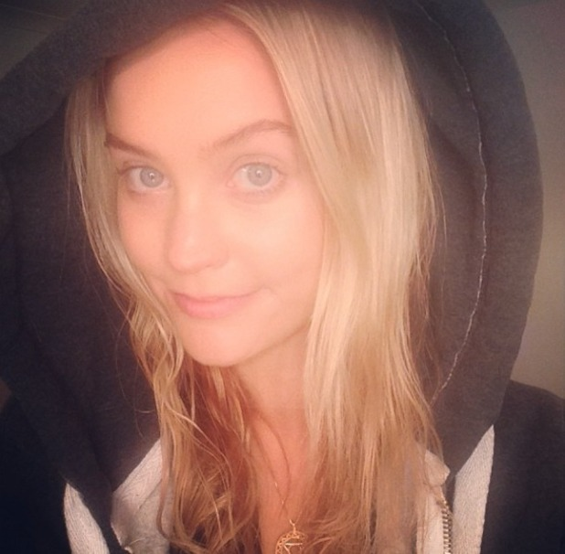 Laura Whitmore no make-up selfie while rehearsing for I'm a Celebrity... Get me Out of Here! NOW in Australia, 2 December 2013
