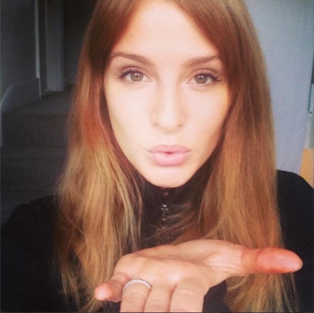 Millie Mackintosh blows a kiss in a selfie, Dec 13.