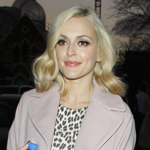 Fearne Cotton leaves the Riverside Studios, London, after filming the TOTP Christmas Special - 07 Dec 2013