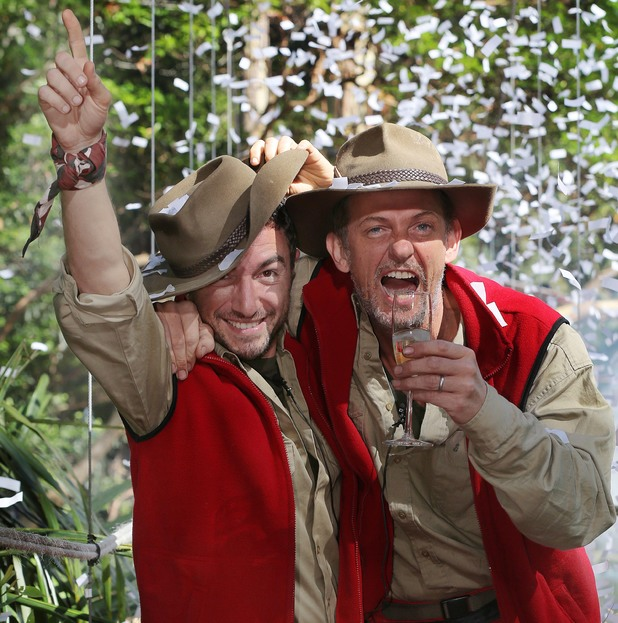 I'm A Celebrity...Get Me Out Of Here!' TV Programme, eviction, Australia - 04 Dec 2013 Vincent Simone and Matthew Wright