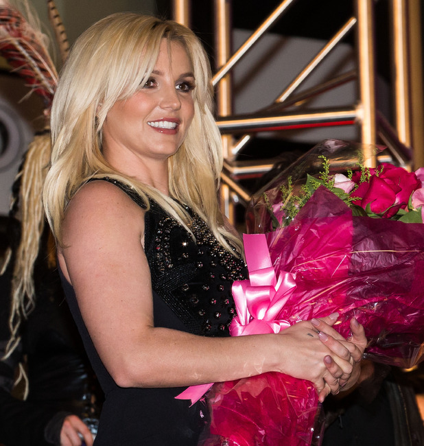 Britney Spears Arrives In Las Vegas to celebrate the release of her new album 'Britney Jean' and prepares for her two-year 'Britney: Piece of Me' residency at Planet Hollywood Resort & Casino. 12/03/2013. Las Vegas, Nevada, United States