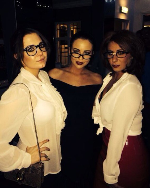 Lydia Bright and friends attend a geek party, 1.12.13