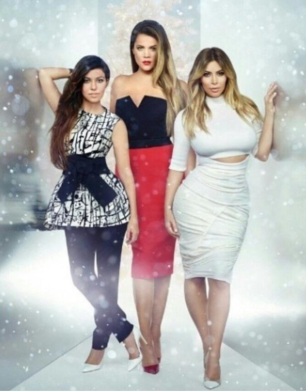 Kim Kardashian Instagram picture with sisters Khloe and Kourtney, Dec 13.
