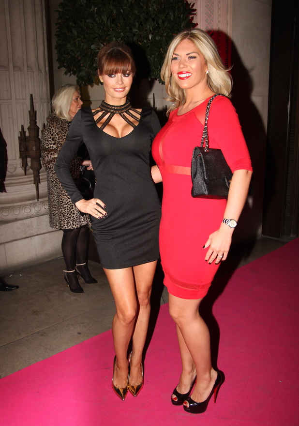 The UK Lingerie Awards 2013 held at Freemason's Hall - 4.12.2013 Chloe Sims, Frankie Essex