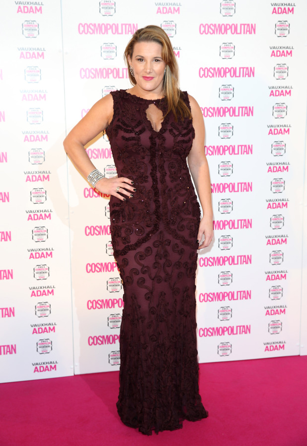 Sam Bailey at the Cosmopolitan Ultimate Women of the Year Awards 2013 - London, 5.12.2013