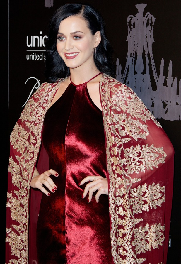 Katy Perry at the UNICEF Snowflake Ball held at Cipriani, Wall Street in New York - 3 December 2013