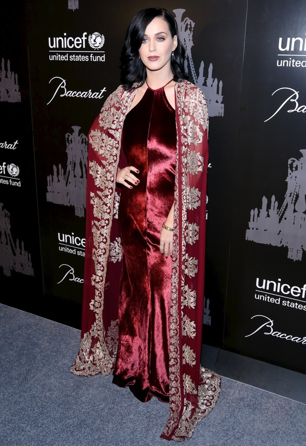 Katy Perry at the UNICEF Snowflake Ball at Cipriani, Wall Street in New York - 3 December 2013