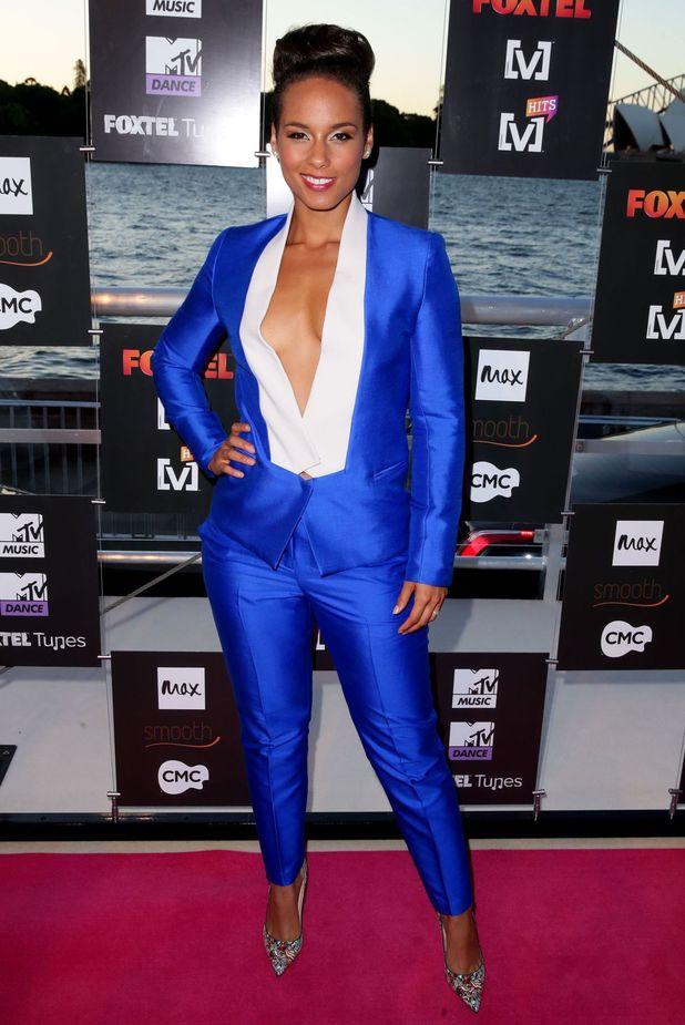 Foxtel Music Channel Summer launch at Mrs Macquarie's Chair, Sydney, Australia - 03 Dec 2013 - Alicia Keys