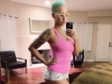 Amber Rose shares photo of her post pregnancy figure - 27.11.2013