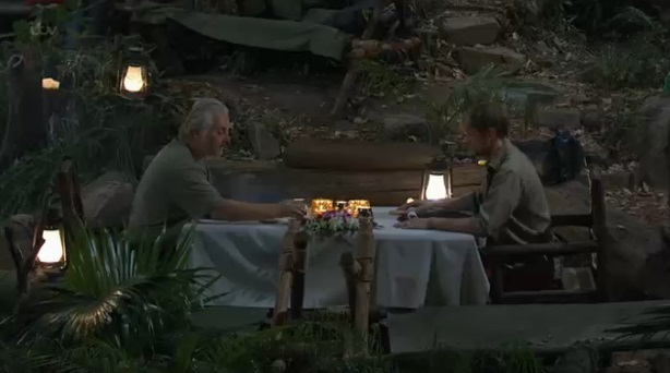 Kian Egan and David Emanuel on I'm A Celebrity Get Me Out Of Here, episode aired 8 December 2013.
