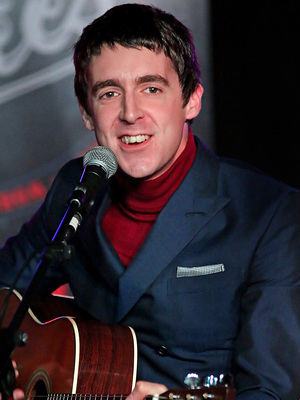 Miles Kane 'In Conversation' about his forthcoming tour with Radio Merseyside DJ Billy Butler, at Liverpool Erics Club. 10/3/2013