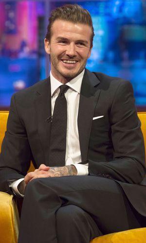 'The Jonathan Ross Show' TV Programme, London, Britain - 14 Dec 2013 David Beckham