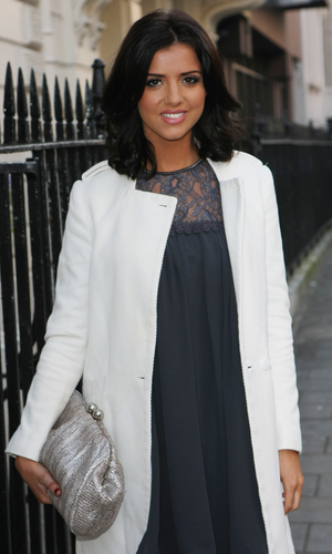 Celebrities arriving at the Savile Club for Lydia Rose Bright's Spring/Summer Collection - Lucy Mecklenburgh - 11.12.2013