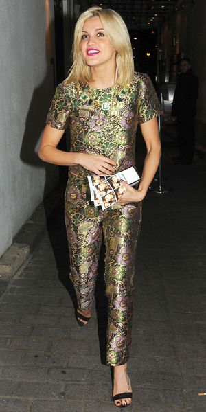 Ashley Roberts leaving Disco club after the Maybelline Christmas party - 10 December 2013