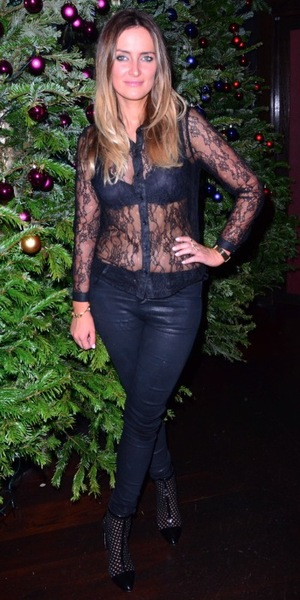 Fran Newman-Young at the Made In Chelsea fragrance launch at Raffles, London - 9 December 2013