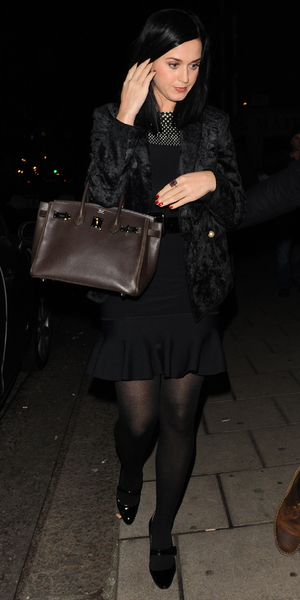 Katy Perry leaves 34 restaurant in London - 10 December 2013