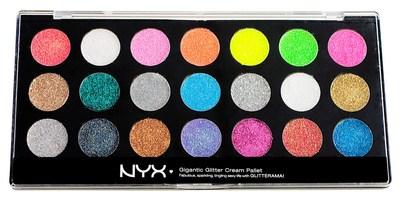 NYX Gigantic Glitter Cream Palette