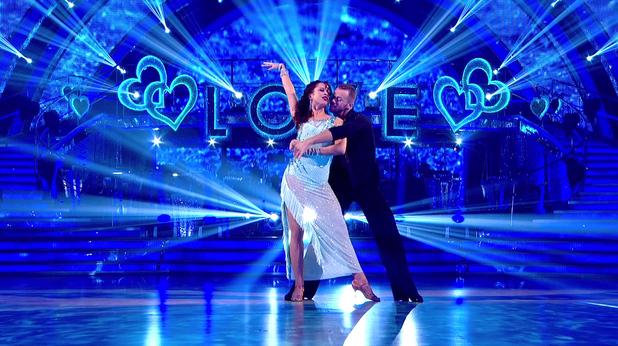 Natalie Gumede and Artem Chigvintsev on Strictly Come Dancing