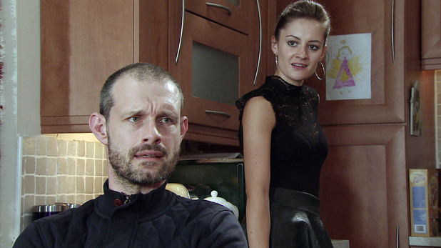 Corrie, Kylie's angry with Nick, Mon 16 Dec
