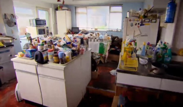 Dirty Kitchen on Obsessive Compulsive Cleaners - Channel 4 - December 2013