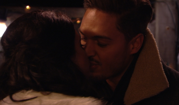 Lucy Mecklenburgh says goodbye to ex Mario Falcone in the festive special of The Only Way is Essexmas this week.