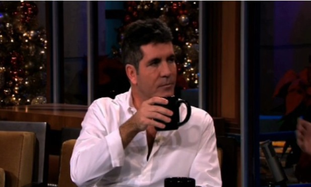 Simon Cowell appears on The Tonight Show with Jay Leno - 9 December 2013