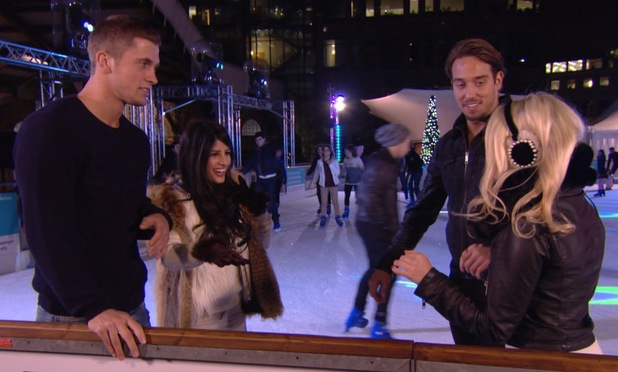 Dan Osborne goes on a double date with Jasmin Walia in TOWIE's festive episode, The Only Way Is Essexmas.