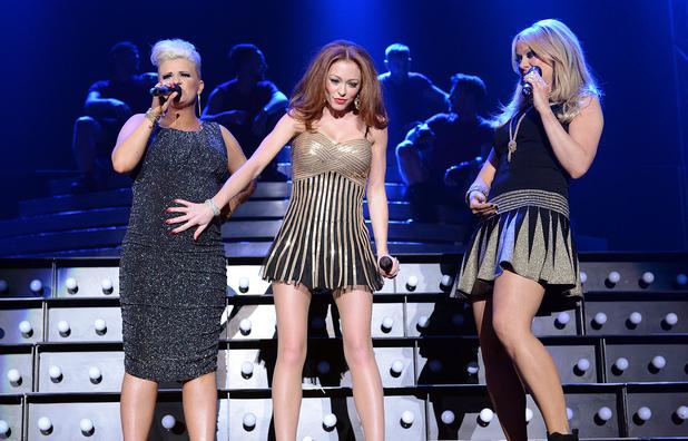 The Big Reunion Christmas Party at the Capital FM Arena, Nottingham, Britain - 11 Dec 2013 Atomic Kitten - Kerry Katona