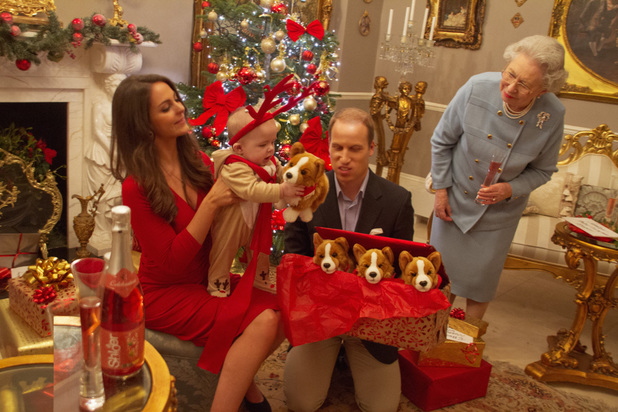 Alison Jackson takes spoof pictures using Kate Middleton, Prince William, Prince Harry, Prince George, Prince Charles and Camilla look-a-likes - 12 December 2013