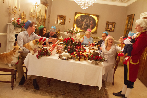 Spoof Christmas with Kate, William and George