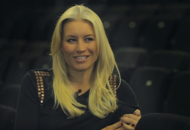 Denise Van Outen stars in Some Girl i Used To Know - December 2013