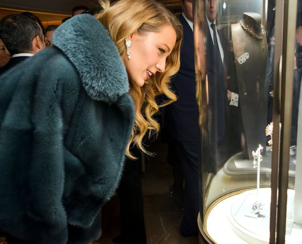 Blake Lively - 'Van Cleef and Arpels' flagship store opening, New York, America - 10 Dec 2013