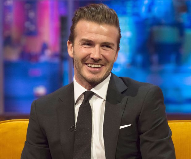 'The Jonathan Ross Show' TV Programme, London, Britain - 14 Dec 2013 David Beckham