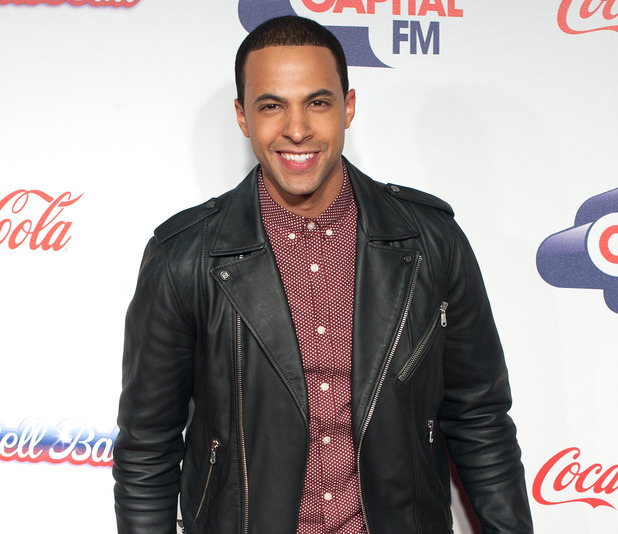 Marvin Humes at the Capital FM Jingle Bell Ball 2013 held at the O2 arena - Day 2 - Arrivals. 12/08/2013.