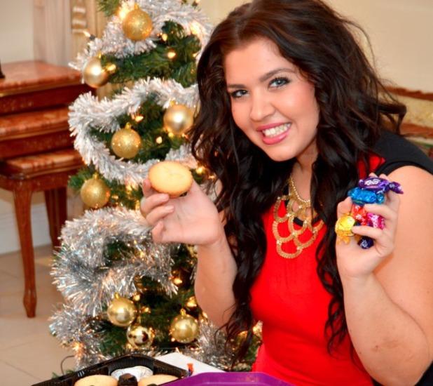 Elena won't be holding back this Christmas