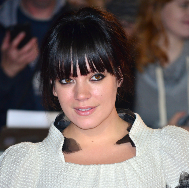 Lily Allen, 57th BFI London Film Festival - 'Saving Mr Banks' - Premiere at the Odeon Leicester Square, 20 October 2013